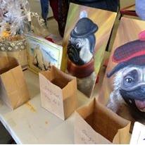 Pug Paintings